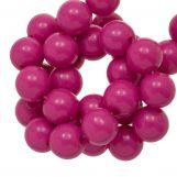 Perles En Acrylique (10 mm) Candy Pink (90 pièces)