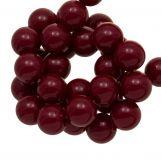 Perles En Acrylique (10 mm) Cherry (90 pièces)