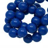 Perles En Acrylique (10 mm) Dark Blue (90 pièces)