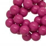Perles En Acrylique (12 mm) Candy Pink (54 pièces)