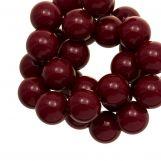 Perles En Acrylique (12 mm) Cherry (54 pièces)