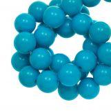 Perles En Acrylique (12 mm) Water Blue (54 pièces)
