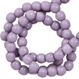 Perles en Verre Cirées DQ (2 mm) Lilac (150 pièces)