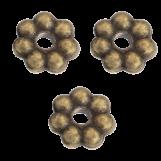Perles En Métal (6mm) Bronze (40 pièces)