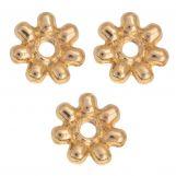 Perles En Métal (8mm) Or (40 pièces)