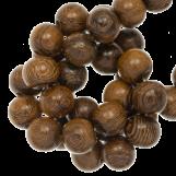 Perles en Bois (10mm) Robles (41pièces)