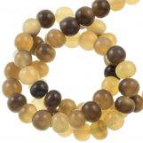 Perles en Os (6 mm) Grey (75 pièces)