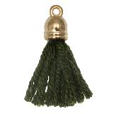 Pompon imitation (20 mm) Seaweed / Or (5 pièces)