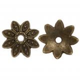 Calotte de Perles (9 x 2 mm) Bronze (25 pièces)