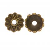 Calotte de Perles (8 x 2.5 mm) Bronze (25 pièces)