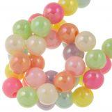 Perles en Acrylique (6 mm) Mix AB Color (150 pièces)