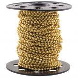 Chaine Bille Acier Inoxydable (2 mm) Or (20 mètre)