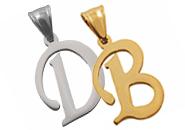 pendentifs lettre